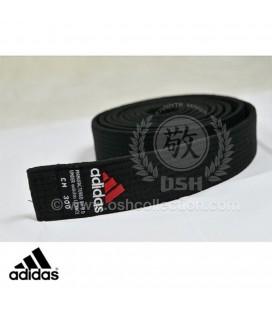 Sabuk Hitam Adidas Elite untuk Karate Judo Aikido