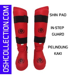 OSH Shin / In-Step Guard (Merah/Biru)