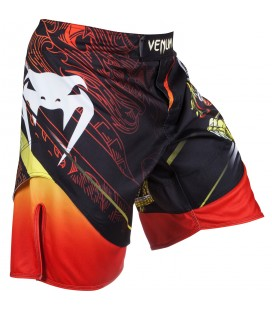 Venum Lyoto Machida Tatsu King Fight shorts Black Orange