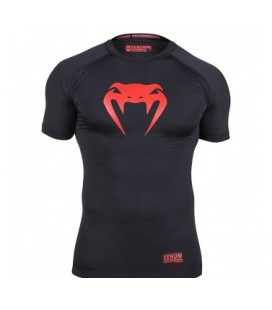 Venum Contender Compression T-shirt - Red Devil - Short Sleeves