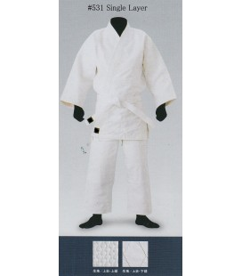 Sakuraya Aikido/Judo Gi Single Layer White