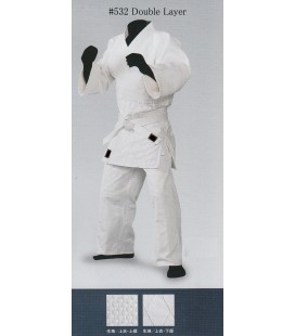 Sakuraya Aikido/Judo Gi Double Layer White