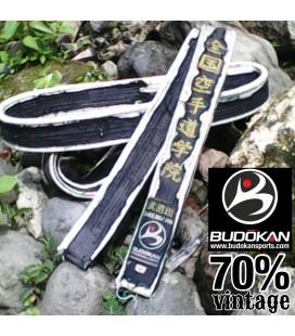 Budokan Vintage Black Belt